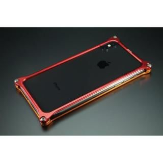 【iPhone X ケース】RADIO EVA×GILDdesign ソリッドバンパー 2号機