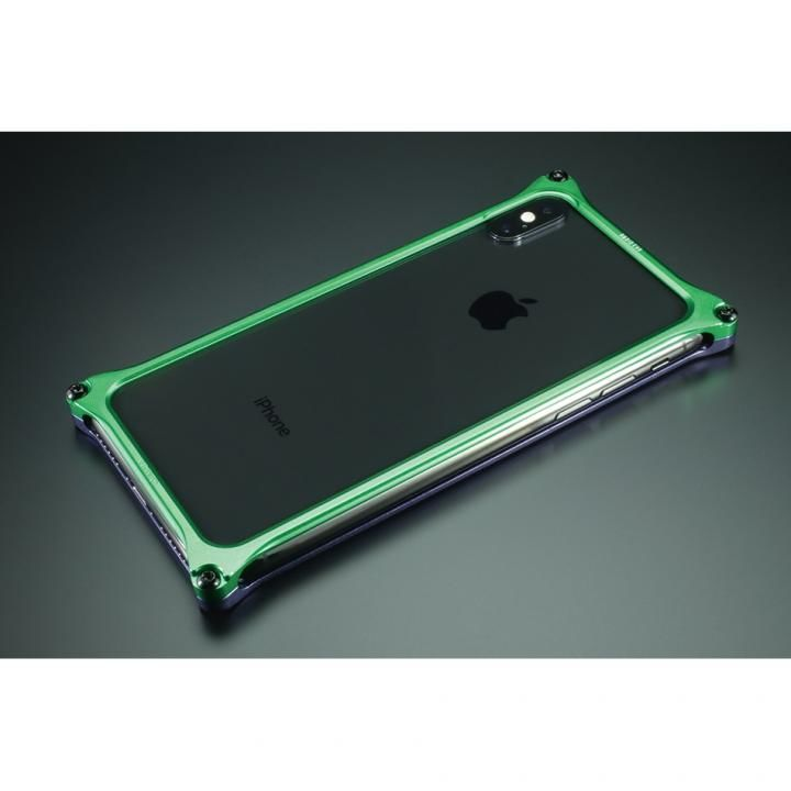 【iPhone XS/Xケース】RADIO EVA×GILDdesign ソリッドバンパー 初号機 iPhone XS/X_0