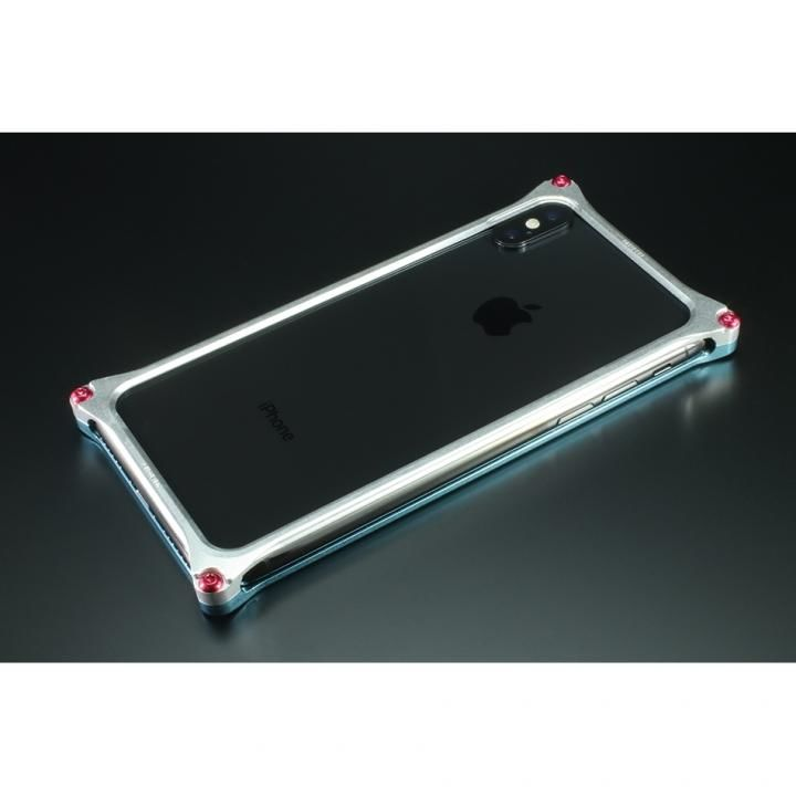 iPhone XS/X ケース RADIO EVA×GILDdesign ソリッドバンパー 綾波レイ iPhone XS/X_0