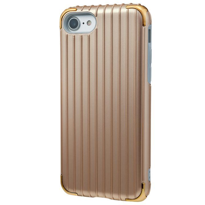 iPhone8/7 ケース GRAMAS COLORS Rib 2 ハイブリッドケース ゴールド iPhone 8/7_0