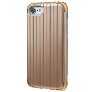 GRAMAS COLORS Rib 2 ハイブリッドケース ゴールド iPhone 7