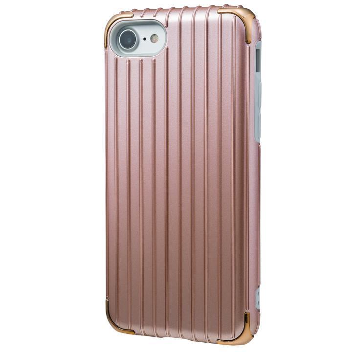 iPhone8/7 ケース GRAMAS COLORS Rib 2 ハイブリッドケース ローズゴールド iPhone 8/7_0
