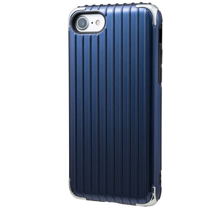 iPhone8/7 ケース GRAMAS COLORS Rib 2 ハイブリッドケース ネイビー iPhone 8/7_0