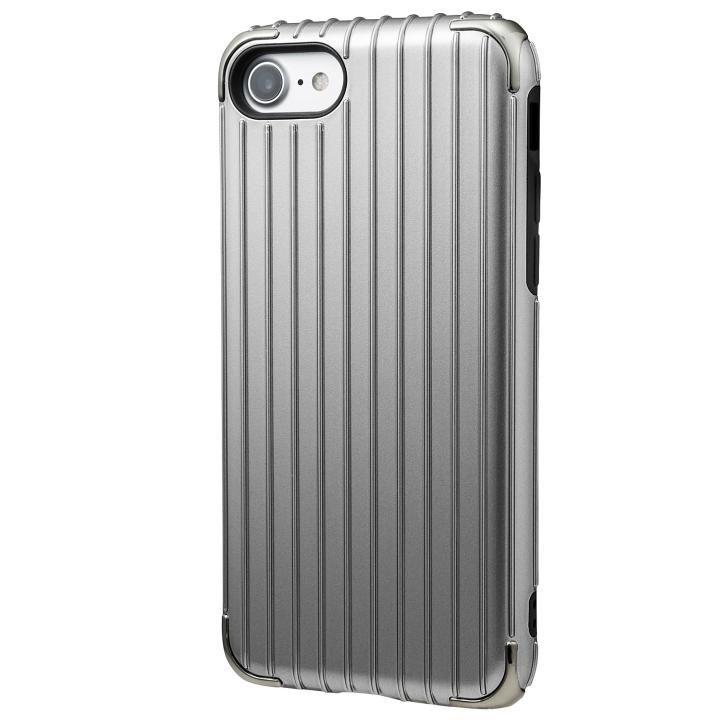 iPhone8/7 ケース GRAMAS COLORS Rib 2 ハイブリッドケース グレイ iPhone 8/7_0