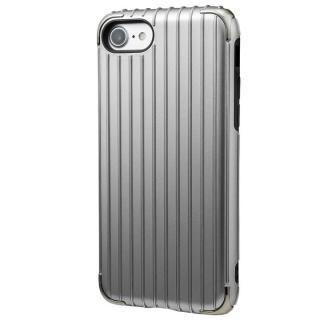 GRAMAS COLORS Rib 2 ハイブリッドケース グレイ iPhone 7