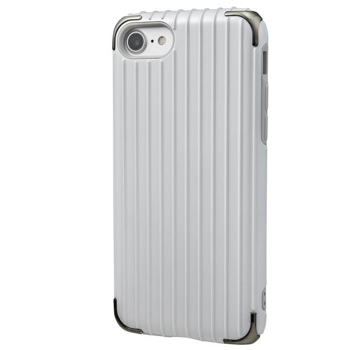 iPhone8/7 ケース GRAMAS COLORS Rib 2 ハイブリッドケース ホワイト iPhone 8/7_0