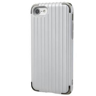 GRAMAS COLORS Rib 2 ハイブリッドケース ホワイト iPhone 7
