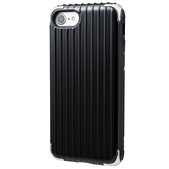 iPhone8/7 ケース GRAMAS COLORS Rib 2 ハイブリッドケース ブラック iPhone 8/7_0