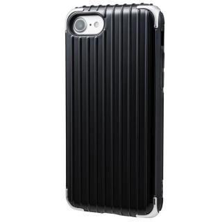 【iPhone8/7ケース】GRAMAS COLORS Rib 2 ハイブリッドケース ブラック iPhone 8/7