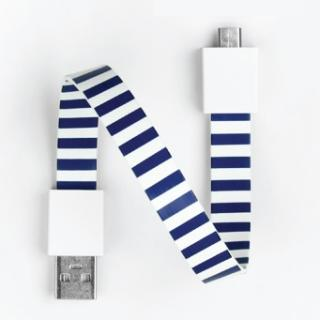Mohzy Loop USB Cable-navy lite