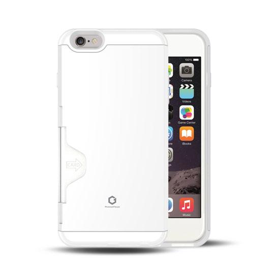 Golf Fit カード収納機能付きケース ホワイト-エア iPhone 6 Plus