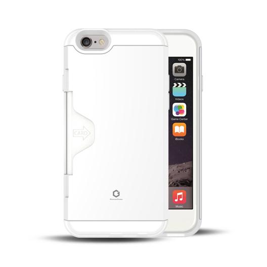 Golf Fit カード収納機能付きケース ホワイト-エア iPhone 6