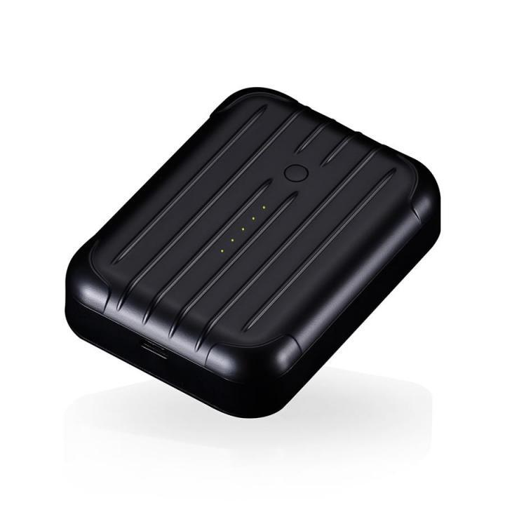 [6000mAh]2.5A出力 Just Mobile Gum++ ブラック