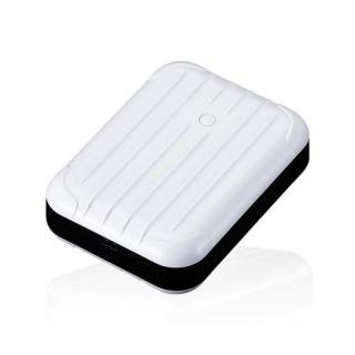 [6000mAh]2.5A出力 Just Mobile Gum++ ホワイト