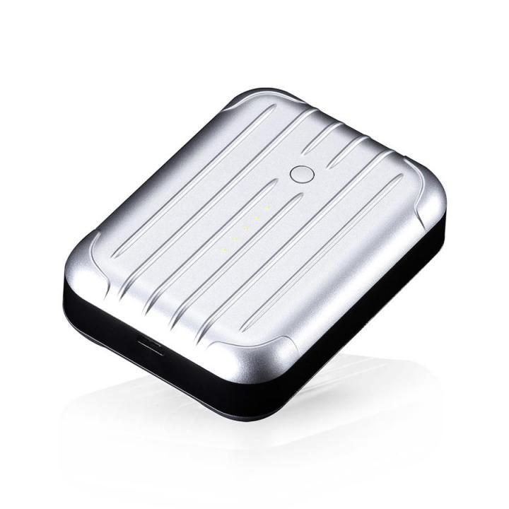 6000mAh 2.5A出力 Just Mobile Gum++ シルバー 送料無料