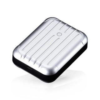 [6000mAh]2.5A出力 Just Mobile Gum++ シルバー