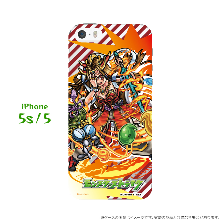 iPhone SE/5s/5 第2回モンスト選抜選挙 黄泉津大神イザナミ iPhone SE/5s/5ケース_0