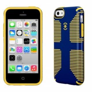 その他のiPhone/iPod ケース iPhone 5c CandyShell Grip Cadet Blue/Goldfinch Yellow