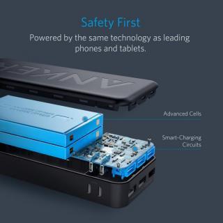 [20000mAh]Anker PowerCore II 20000 3ポート モバイルバッテリー ブラック_5