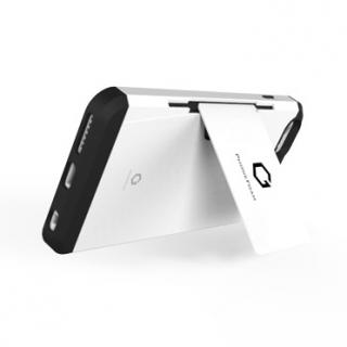 【iPhone6ケース】Golf Fit カード収納機能付きケース ホワイト-パープル iPhone 6_2