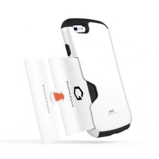 【iPhone6ケース】Golf Original カード収納機能付きケース ホワイト-レッド iPhone 6_1