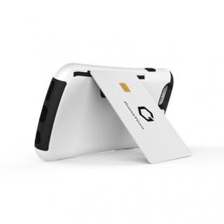 【iPhone6ケース】Golf Original カード収納機能付きケース ホワイト-レッド iPhone 6_2
