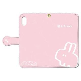なでなでしてほしいウサギの手帳型iPhoneケース X用
