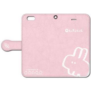なでなでしてほしいウサギの手帳型iPhoneケース 6s/6用