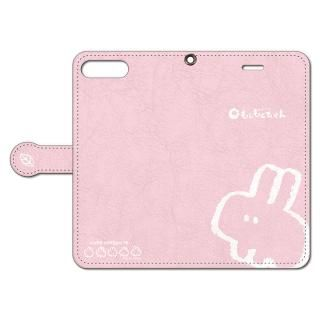 なでなでしてほしいウサギの手帳型iPhoneケース 8 Plus/7 Plus用