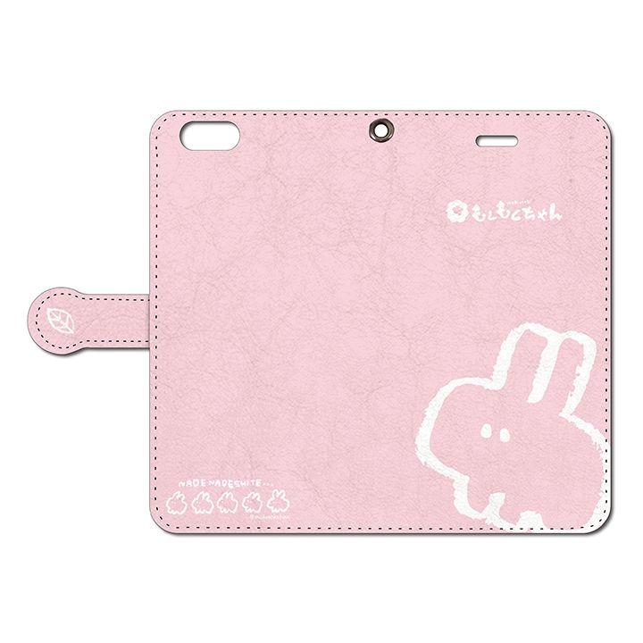 iPhone6s Plus/6 Plus ケース なでなでしてほしいウサギの手帳型iPhoneケース 6s Plus/6 Plus用_0