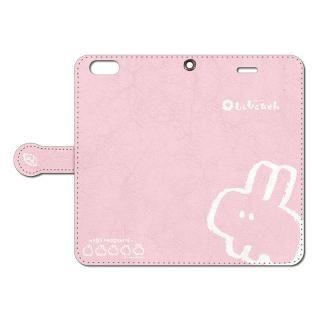 iPhone6s Plus/6 Plus ケース なでなでしてほしいウサギの手帳型iPhoneケース 6s Plus/6 Plus用