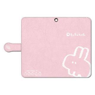なでなでしてほしいウサギの汎用手帳型ケース Lサイズ【4月中旬】