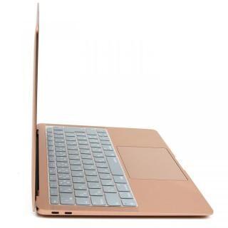 キースキン 2018 MacBook Air 13インチ専用 キーボードカバー シルバー