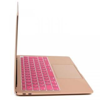 キースキン 2018 MacBook Air 13インチ専用 キーボードカバー ピンク