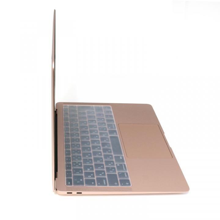 キースキン 2018 MacBook Air 13インチ専用 キーボードカバー クリア_0