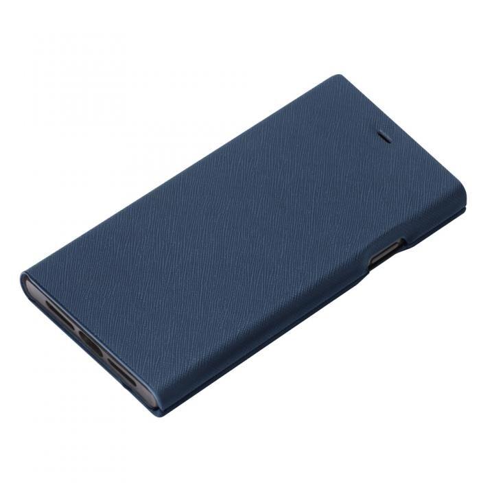 iPhone XS Max ケース Premium Style タフ手帳型ケース ブルー iPhone XS MAX_0