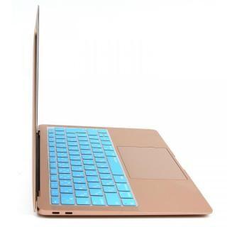 キースキン 2018 MacBook Air 13インチ専用 キーボードカバー ブルー