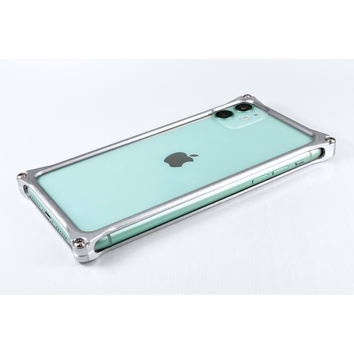 iPhone 11 ケース ギルドデザイン ソリッドバンパー シルバー iPhone 11_0