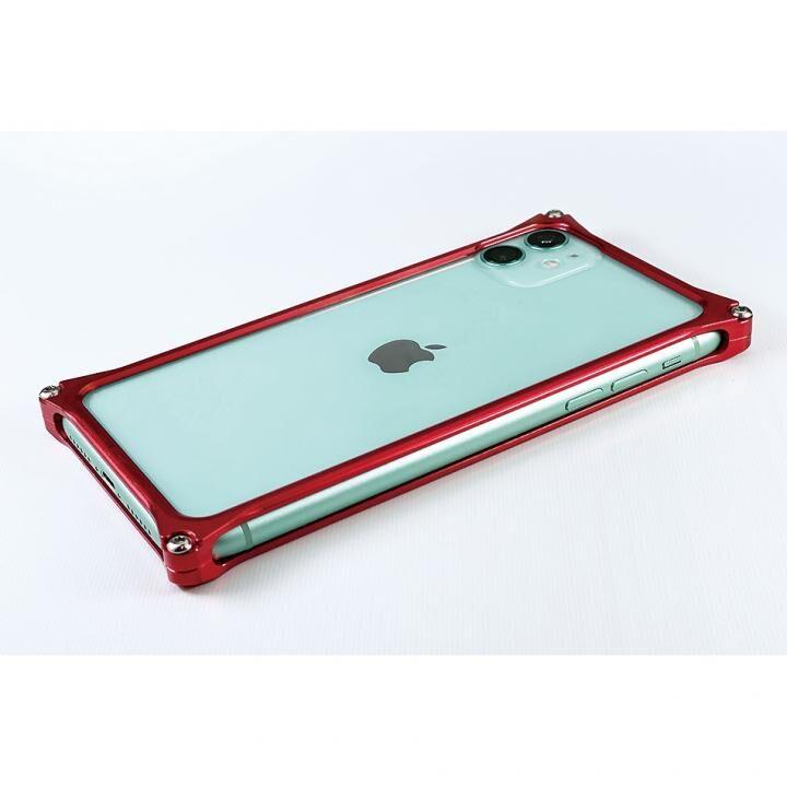iPhone 11 ケース ギルドデザイン ソリッドバンパー レッド iPhone 11_0