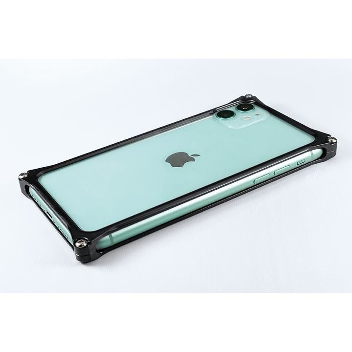 iPhone 11 ケース ギルドデザイン ソリッドバンパー ブラック iPhone 11_0
