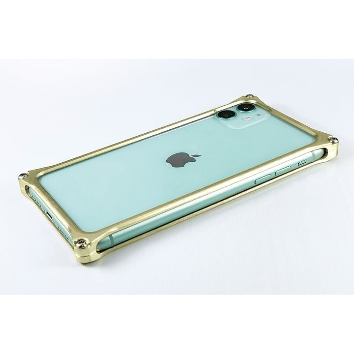 iPhone 11 ケース ギルドデザイン ソリッドバンパー シャンパンゴールド iPhone 11_0