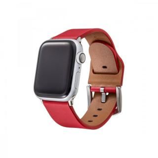 GRAMAS Genuine Leather Watchband for Apple Watch 40/38mm レッド