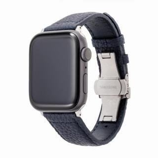 GRAMAS German Shrunken-calf Watchband for Apple Watch 44/42mm Navy