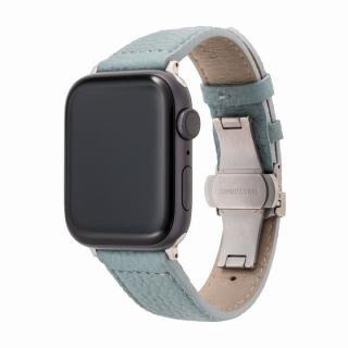 GRAMAS German Shrunken-calf Watchband for Apple Watch 44/42mm Baby Blue