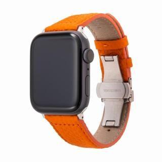 GRAMAS German Shrunken-calf Watchband for Apple Watch 44/42mm Orange