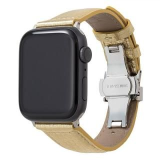 GRAMAS PikaPika Leather Watchband for Apple Watch 44/42mm Gold