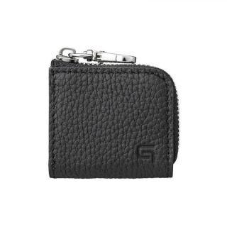 GRAMAS Me-po German Shrunken-calf Minimal Coin Pocket コインポケット Black