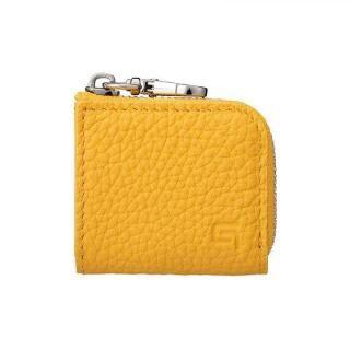 GRAMAS Me-po German Shrunken-calf Minimal Coin Pocket コインポケット Yellow