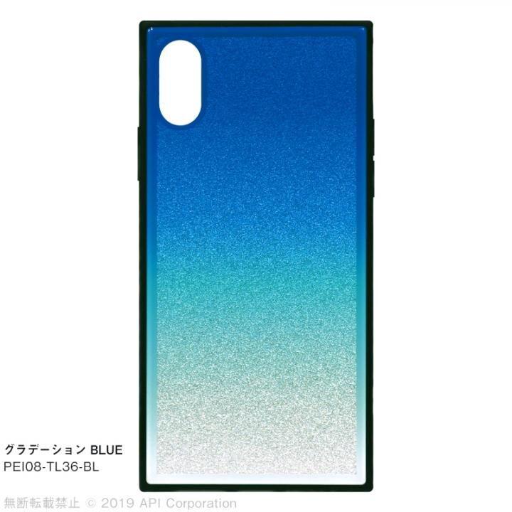 iPhone XS/X ケース EYLE TILE グラデーション iPhoneケース ブルー iPhone XS/X_0