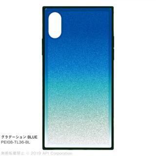 iPhone XS/X ケース EYLE TILE グラデーション iPhoneケース ブルー iPhone XS/X